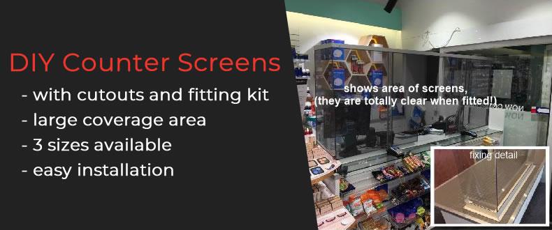 DIY Counter Screens