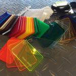 Perspex Colour Samples